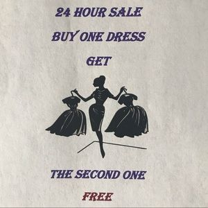 **All Dresses** BUY 1 GET 1 DRESSES ONLY